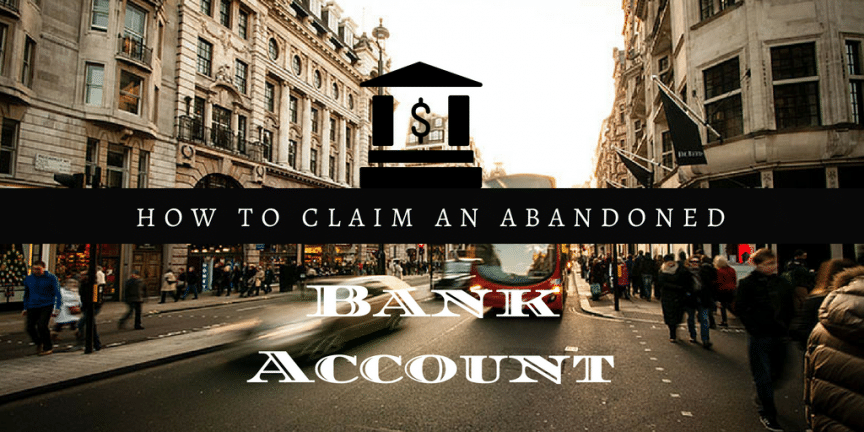 abandoned bank accounts