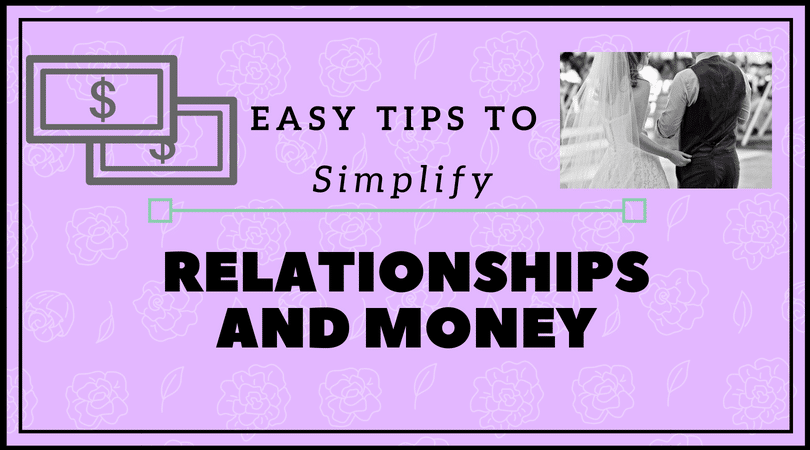 relationships and money banner