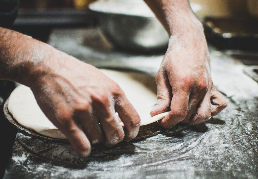 making good pizza