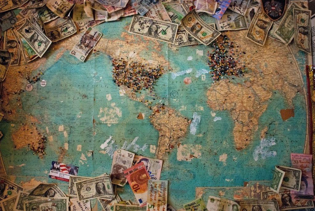 international-map-money